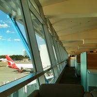 Photo taken at Qantas Club (T3) by Cha D. on 4/9/2012