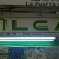 Photo taken at La Puerta De Alcalá by Kike A. on 7/1/2012