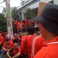 Photo taken at Graha Citra Caraka by Jihan Y. on 11/10/2011