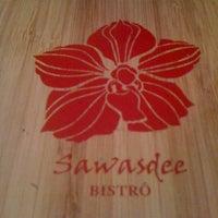 Photo taken at Sawasdee Bistrô by Emiko T. on 5/17/2012