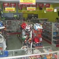 """Photo taken at Bikermart 18 """"MEGA MOTOR"""" Swalayan Spareparts & Accesories Motor by Henz H. on 12/17/2011"""