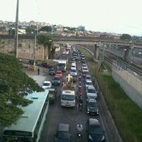Photo taken at Avenida Cristiano Machado by Wagner W. on 1/17/2012
