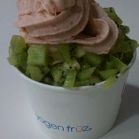 Photo taken at Yogen Fruz by Judith L. on 10/10/2011