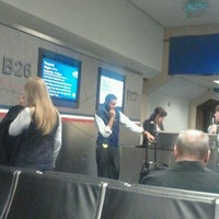 Photo taken at Gate B26 by Wesley M. on 1/9/2012