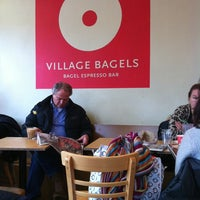 Photo taken at Village Bagels by Johan R. on 1/22/2011