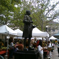 Photo taken at Copley Square Farmer's Market by Andrea S. on 7/8/2011