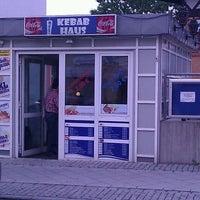 Photo taken at Kebab Haus by Denis P. on 4/28/2011