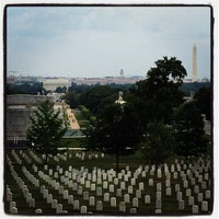 Photo taken at Arlington National Cemetery by Nicole N. on 8/11/2012