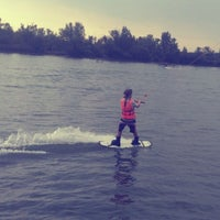 Photo taken at Dunaharaszti Wakeboard by Наташа Л. on 8/17/2012