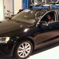 Photo taken at Schmitt's Audi Volkswagen by Thurman Murman on 3/29/2012