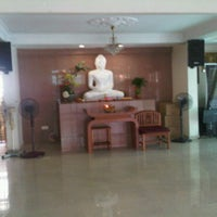 Photo taken at Metta Lodge Pusat Buddhist, Johor by Heng C. on 4/27/2011
