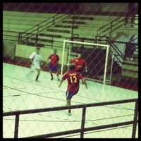 Photo taken at Interno Futsal G1-SPFC by Jihad M. on 7/6/2012