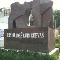 Das Foto wurde bei Paseo escultórico José Luis Cuevas von Michel V. am 5/27/2011 aufgenommen
