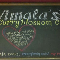 Photo taken at Vimala's Curryblossom Cafe by Stacey P. on 12/22/2011