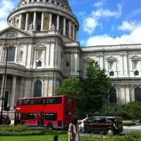 Photo taken at St Paul's Churchyard by 冠樺 李. on 7/4/2012