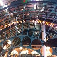 Photo taken at Mediterranean Sandwich Bar by Bob O. on 7/8/2011