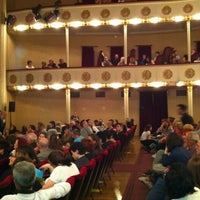 Photo taken at Teatro Consorziale Di Budrio by Barbara S. on 5/26/2012