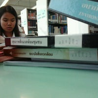 Photo taken at Library by Ayee P. on 12/1/2011