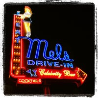 Photo taken at Mel's Drive-In by Thirsty J. on 1/30/2012