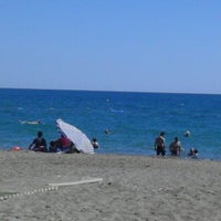Photo taken at Kadriye Beach Park by Levent Y. on 8/21/2012