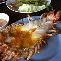 Photo taken at Ton Nam River View by IamBenja N. on 4/5/2012