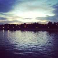 Снимок сделан в Природный заказник «Воробьёвы горы» пользователем Анна 7/15/2012