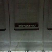 Photo taken at Tenleytown-AU Metro Station by John F. on 12/21/2011