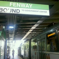 Photo taken at MBTA Fenway Station by SupahFans S. on 7/19/2012