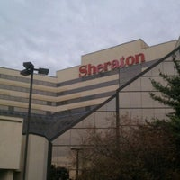 Photo taken at Sheraton Newark Airport Hotel by Oscar P. on 10/26/2011