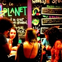 Photo taken at Veggie Planet by andresmh . on 9/8/2012