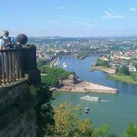 Photo taken at Ehrenbreitstein Fortress by Dietmar G. on 8/20/2011