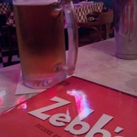 Photo taken at Zebb's Deluxe Grill & Bar by Rob C. on 7/27/2012