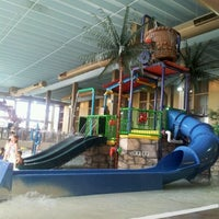 Photo taken at Mayan Adventure Waterpark by Yesenia A. on 4/4/2012
