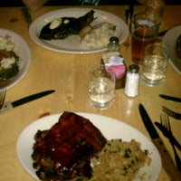 Photo taken at Wobbly Barn Steakhouse by Ming W. on 12/11/2011