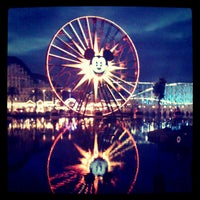 Photo taken at Mickey's Fun Wheel by Lynne B. on 10/20/2011