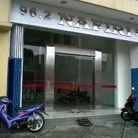 Photo taken at Nafiri 96.2 FM by zya p. on 4/14/2011