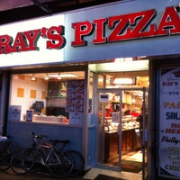Photo taken at Famous Original Ray's Pizza by Aaron V. on 5/8/2012