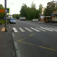 Photo taken at Автобус № 818 by Mark M. on 5/18/2012