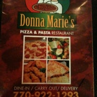 Photo taken at Donna Marie's Pizza & Pasta by Candy M. on 1/2/2011