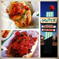Photo taken at Mutt's Amazing Hot Dogs by Will M. on 11/10/2011