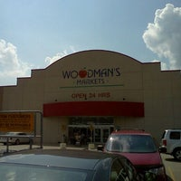 Photo taken at Woodman's Food Market by Michelle R. on 8/19/2011