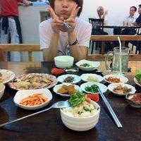 Photo taken at 大长今 Onix Jun Restaurant by Equine L. on 1/14/2012