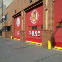 Photo taken at FDNY Engine 71/Ladder 55 by Wil D. on 4/21/2012