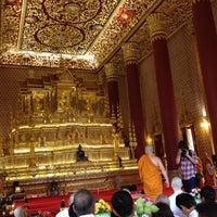 Photo taken at Wat Debsirin by Michelle C. on 8/1/2012