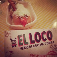 Photo taken at El Loco by Natasha H. on 12/7/2011