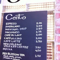 Photo taken at Cento by Gilbert L. on 6/14/2011