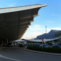 Photo taken at Salzburg Airport W. A. Mozart (SZG) by Angelika H. on 5/6/2011