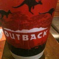 Photo taken at Outback Steakhouse by Morgan M. on 8/25/2011