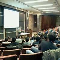 Photo taken at NYU Courant Institute of Mathematical Sciences by Chris R. on 12/16/2011