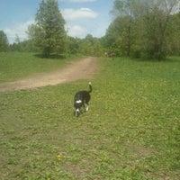 Photo taken at Battle Creek Dog Park by Adam M. on 5/9/2012